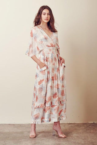 Jolene Multi Tropical dress