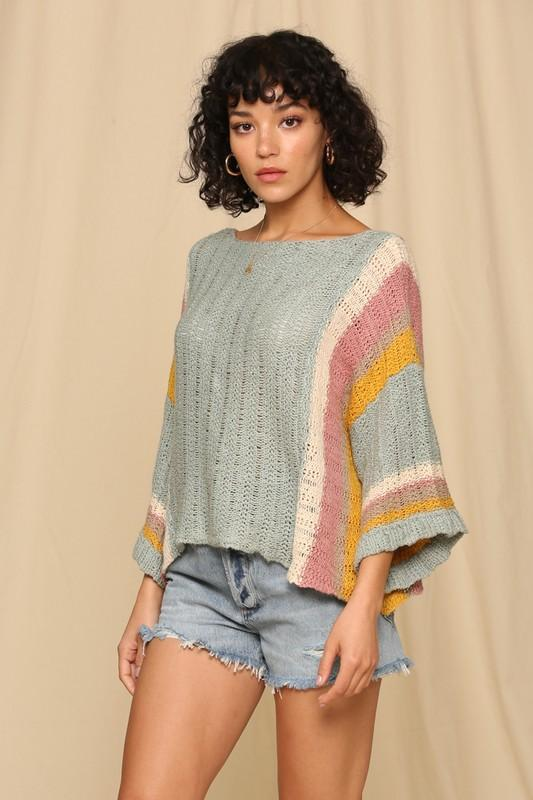 Estelle Stripe Arm Sweater