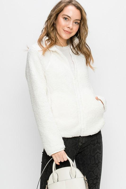 Rada Fuzzy Fleece Jacket