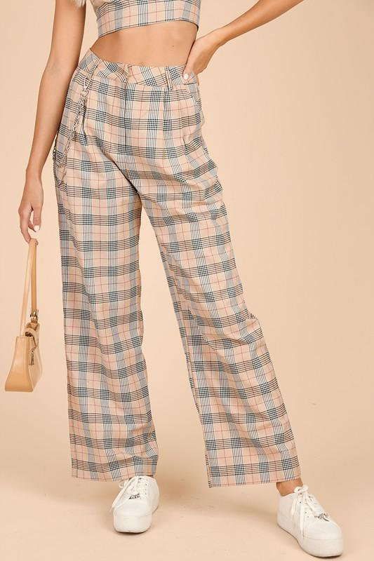 Kyle Plaid Pants