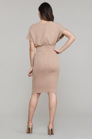 Vanille Dolman Sleeve Midi Dress