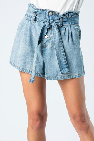 Romi Self-Tie Paperback Shorts
