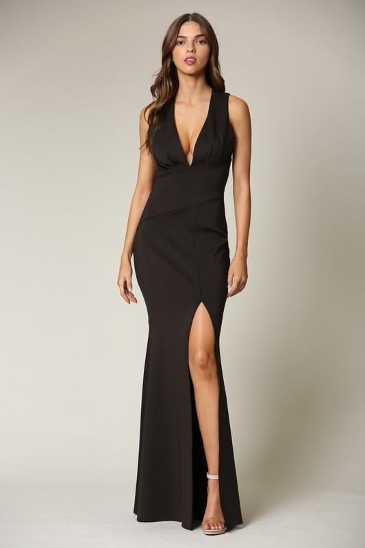 Lianna Fitted Formal Dress