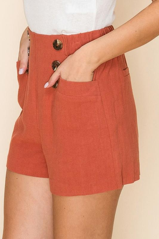 Zurie High-Waist Shorts