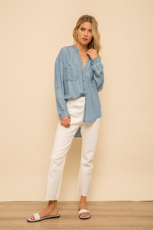 Ivanna Denim Shirt