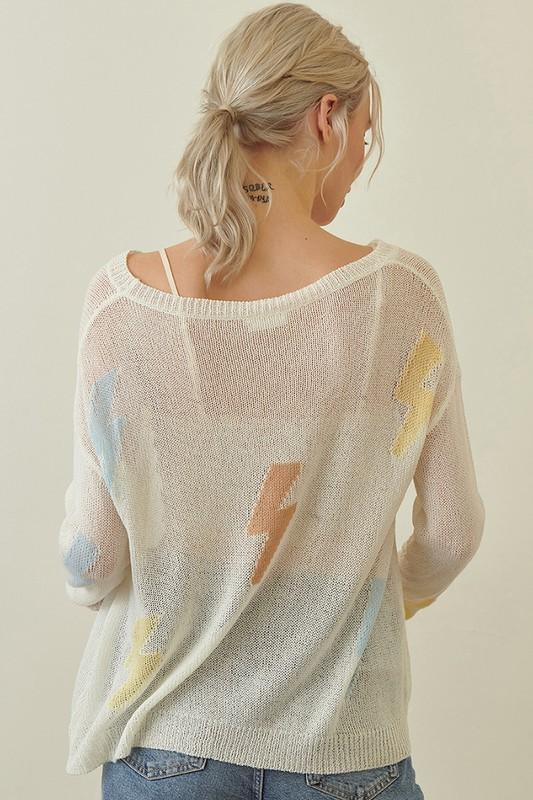 Alannah Lightning Bulb Sweater