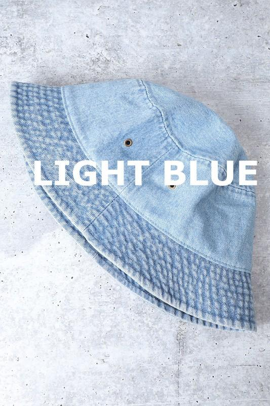 Carla Denim Bucket Hat