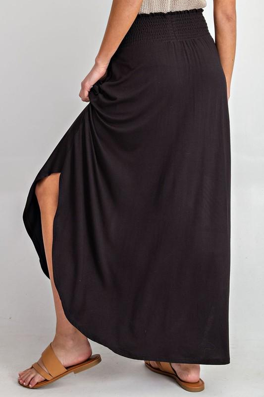 Bailey Maxi Skirt - Black
