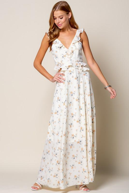 Tinley Side Cut Out Maxi Dress