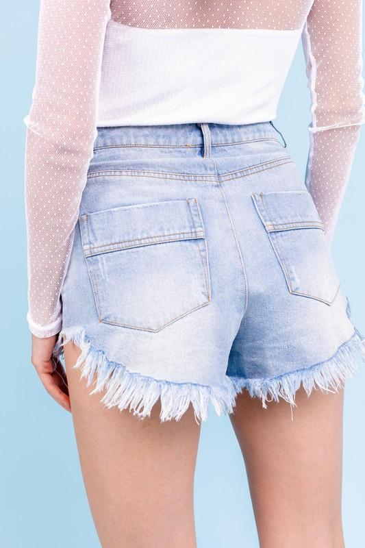 Gloria Denim Shorts
