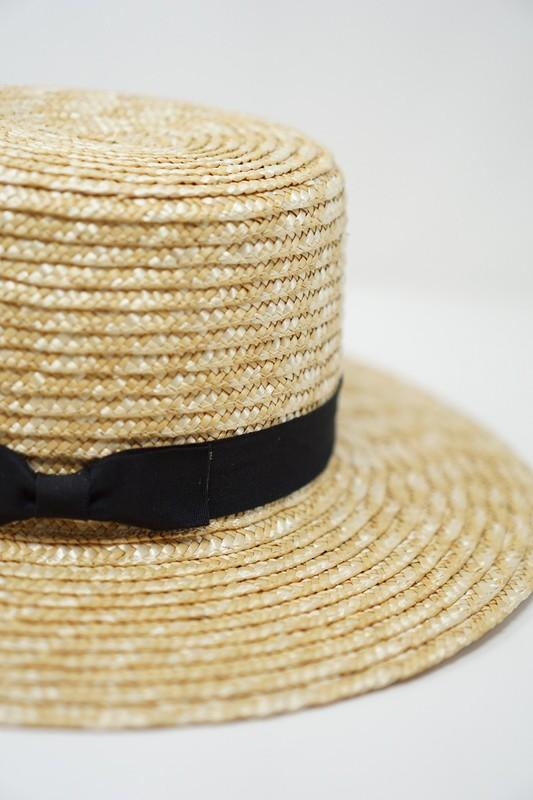 Jodie Straw Boater Hat