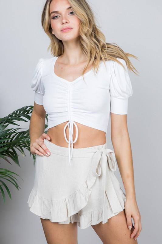 Michelle Mini Ruffle Skort