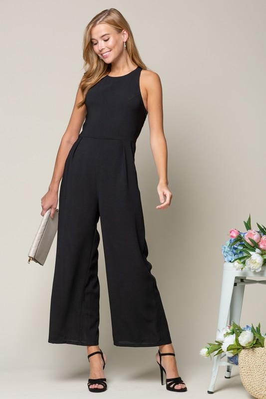Ranya Strappy Back Jumpsuit