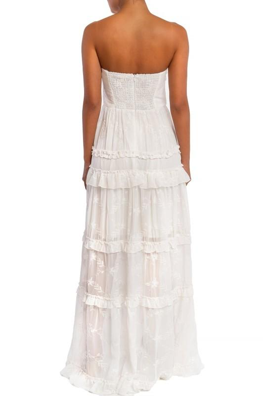 Bea Ruffle Tier Maxi Dress