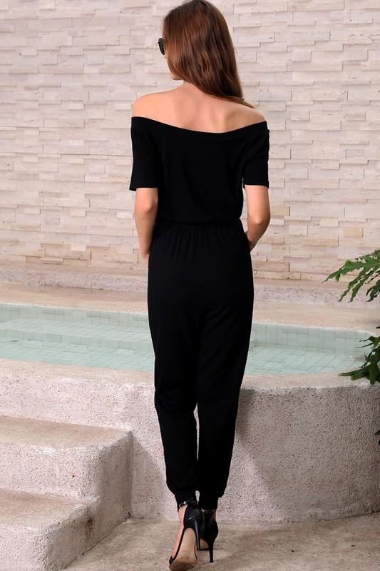Madelyn Off the Shoulder Jumpsuit