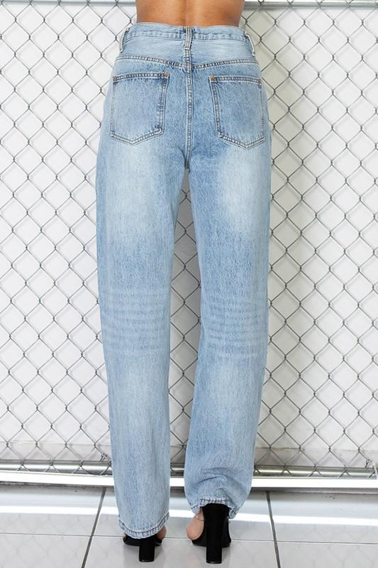 Aubree Asymmetric Denim