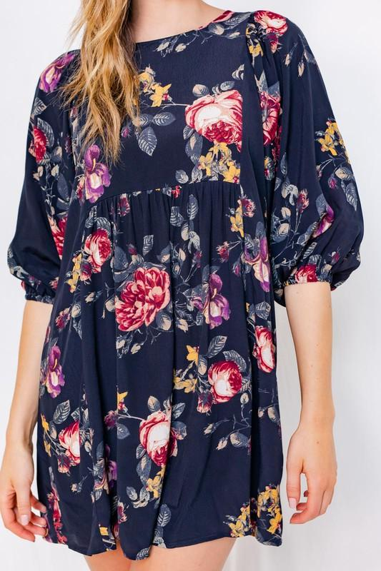 Alex Floral Mini Dress