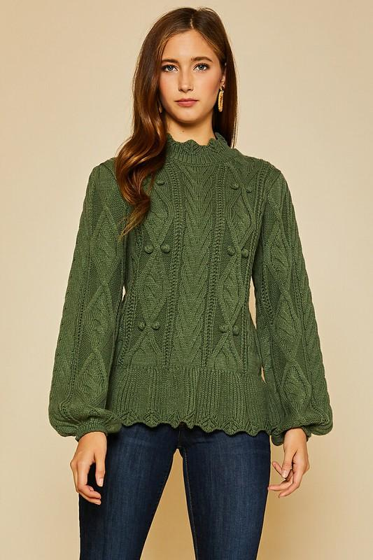 Harleigh Cable Knit Sweater