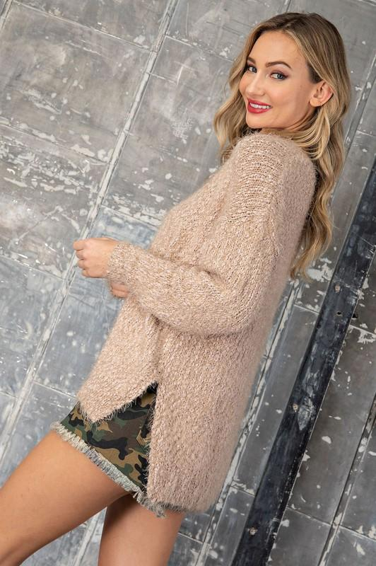 Adelyn Knit Sweater - Beige