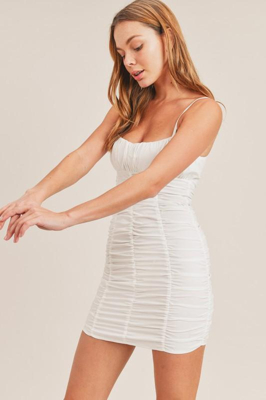 Winslow Ruched Bodycon Mini Dress