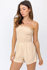 Alice Terry Cloth Strapless Romper