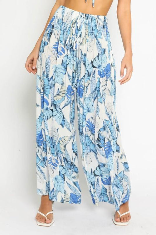 Kassiani Tropical Palazzo Pants
