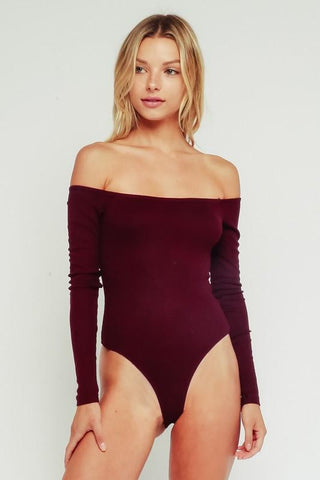 Jazzy Off Shoulder Bodysuit