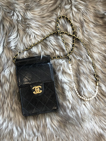 Chantel Pearl Detail Cross-Body Bag