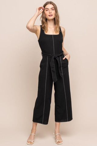 Moana Wide Leg Trouser Jumpsuit