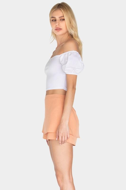 Courtney Layered Skort