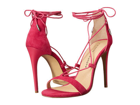 Chinese Laundry Jambi Lace-Up Sandal - Shocking Pink