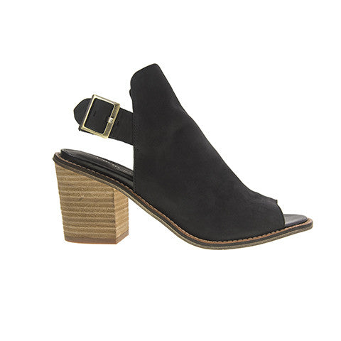 Chinese Laundry Caleb Leather Ankle Booties - Black