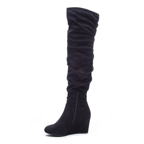 Chinese Laundry Ultra Over The Knee Boot - Black