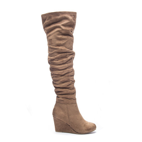 Chinese Laundry Ultra Over The Knee Boot - Camel