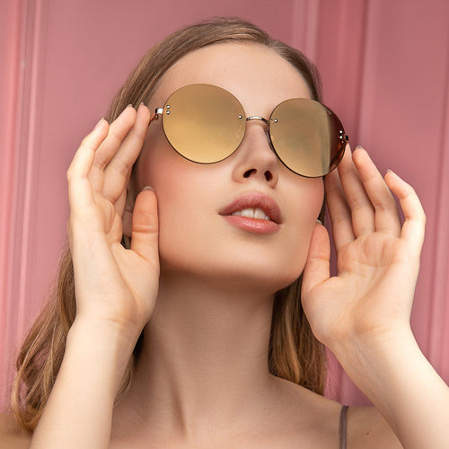 Freyrs Lisa Sunglasses - Gold