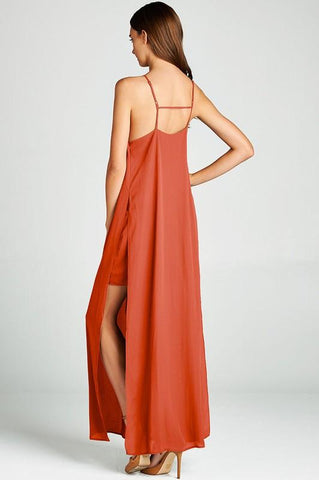 Bianca Halter Maxi Dress