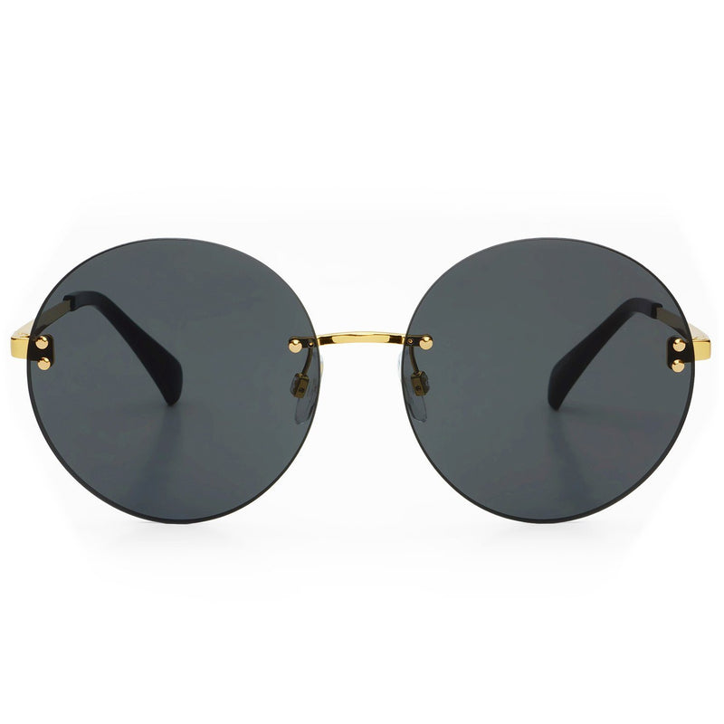 Freyrs Lisa Sunglasses - Gold/Gray