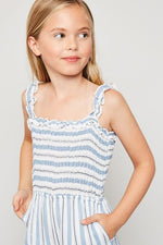 Girls Collection - Leonora Smocked Palazzo Jumper