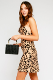 Danerys Leopard Mini Slip Dress
