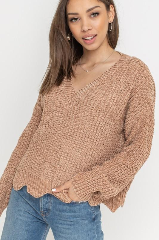 Sandy Soft & Cozy Pullover Sweater