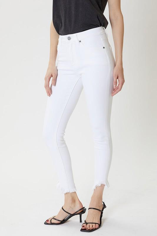 Cory High Rise Skinny Jean - White
