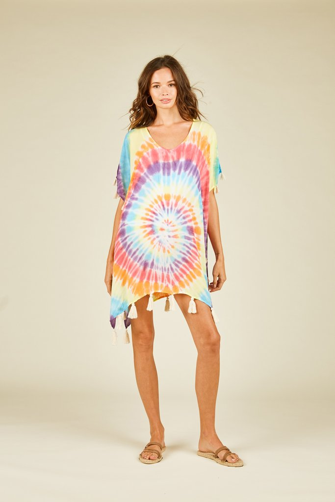 Addilyn Tie-Dye Cover Up
