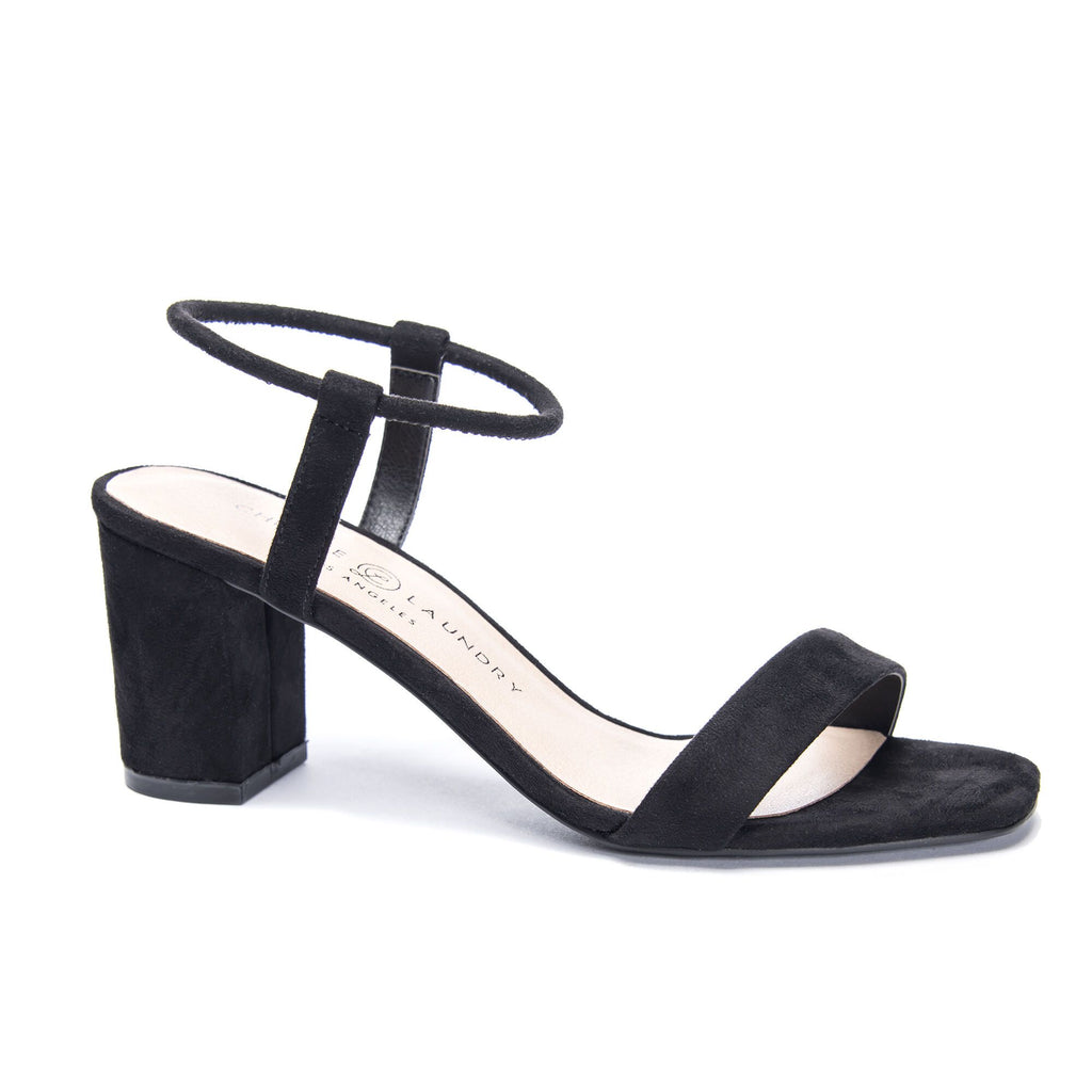 Chinese Laundry Yummy Sandal- Black