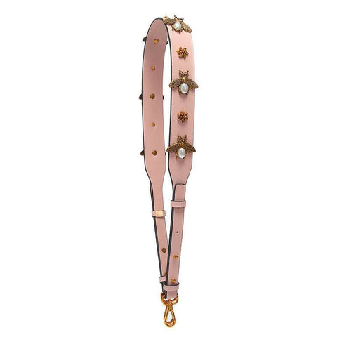 Beatrice Bee Hand Bag strap - Pink