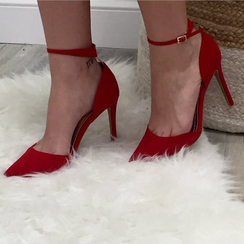 Lust For Red Pump