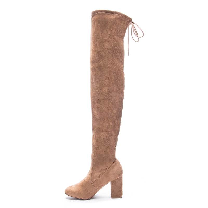 Chinese Laundry Kiara Over The Knee Boot - Camel