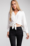 Amante Collar Blouse