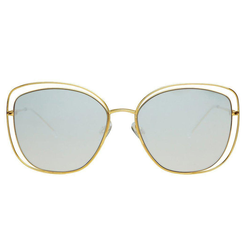 Freyrs Golden Girl Sunglasses - Gold/Silver