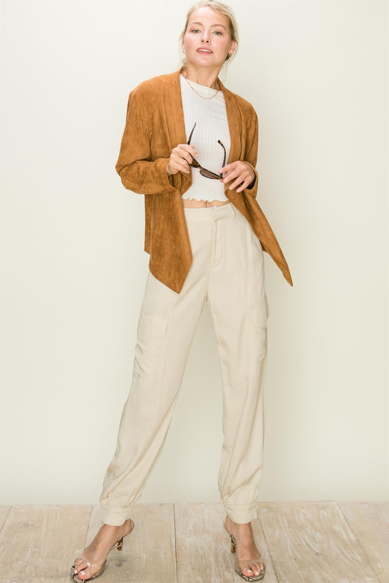 Elsie Cargo High-waist Pants