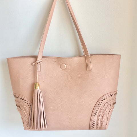 Bailey Tote Bag - Blush